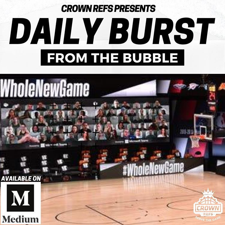 Daily Burst from the Bubble