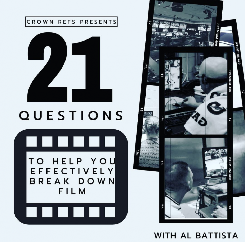 21 Questions to help you effectively break down film- w/ Al Battista