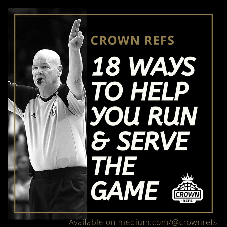 18 ways to Help You Run & Serve the Game